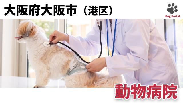 大阪市港区の動物病院
