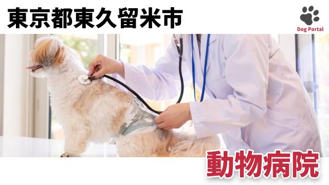 東京都東久留米市の動物病院