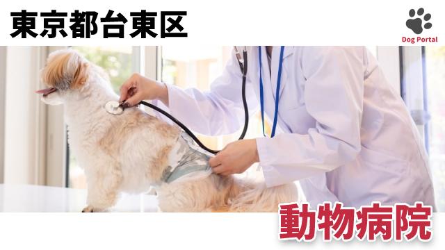 東京都台東区の動物病院