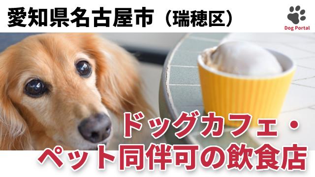 名古屋市瑞穂区のドッグカフェ