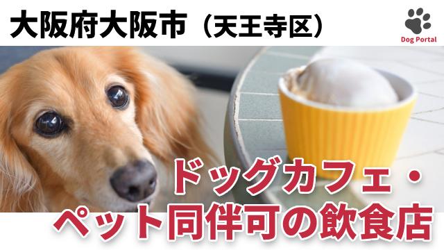 大阪市天王寺区のドッグカフェ