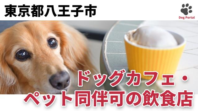 東京都八王子市のドッグカフェ