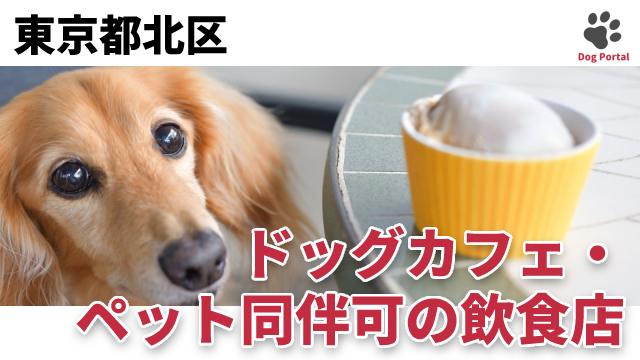 東京都北区のドッグカフェ