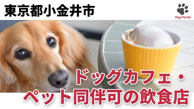 東京都小金井市のドッグカフェ