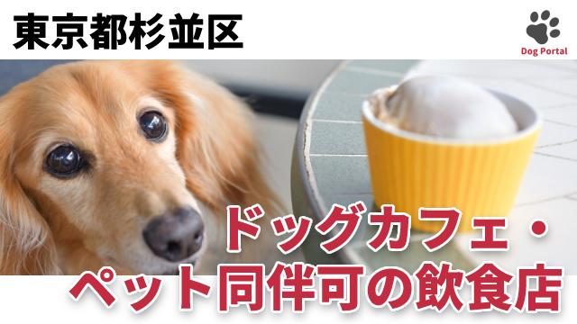 東京都杉並区のドッグカフェ
