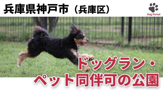 神戸市兵庫区のドッグラン・公園