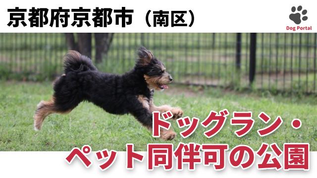 京都市南区のドッグラン・公園